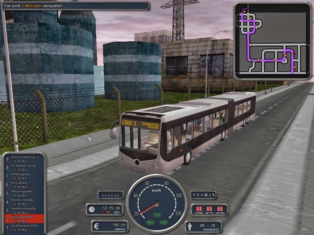 bus simulatro