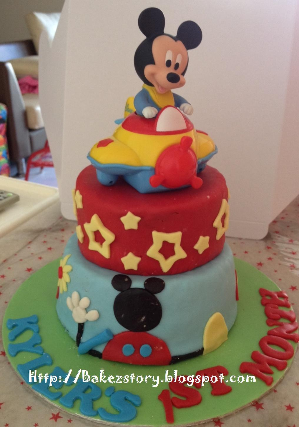 Baby mickey mouse baby shower cake mickey mouse clubhouse mini 2