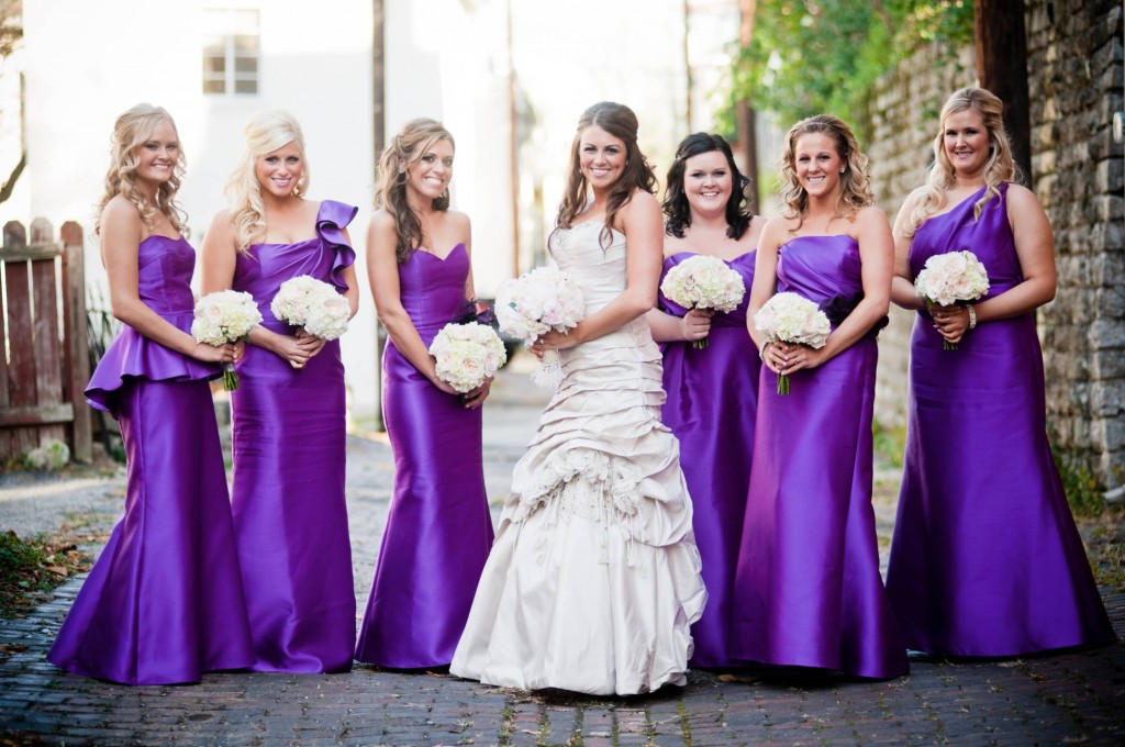 Bombshell Bridesmaid Couture
