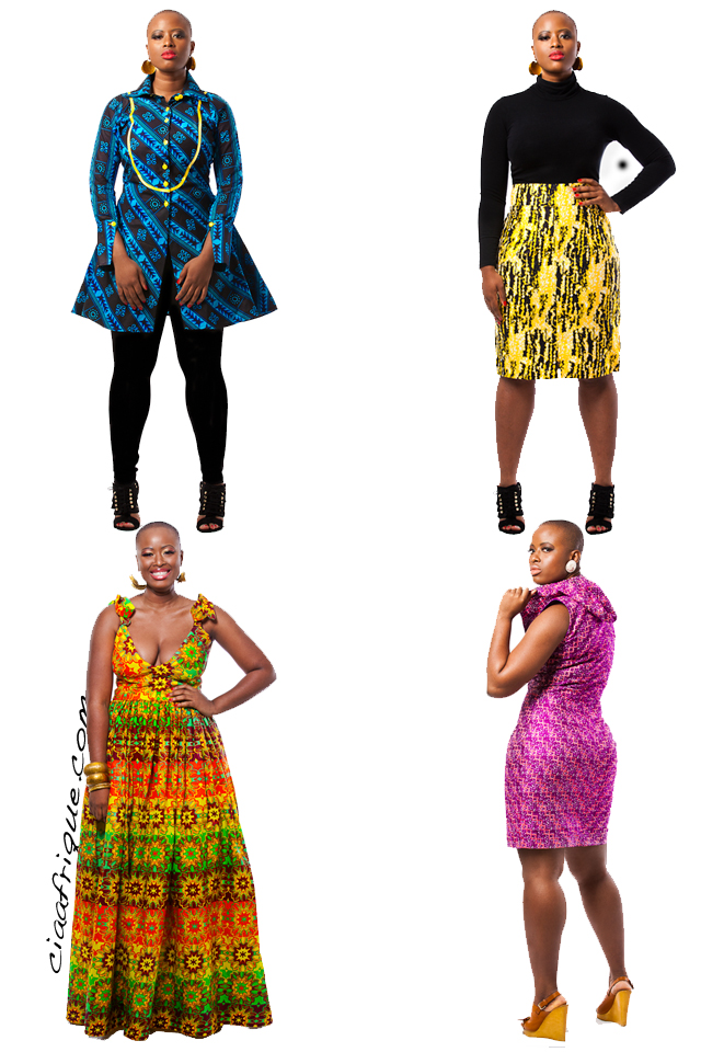 kitenge dresses-ankara-dresses-Nigerian fashion dresses-curvy fashion