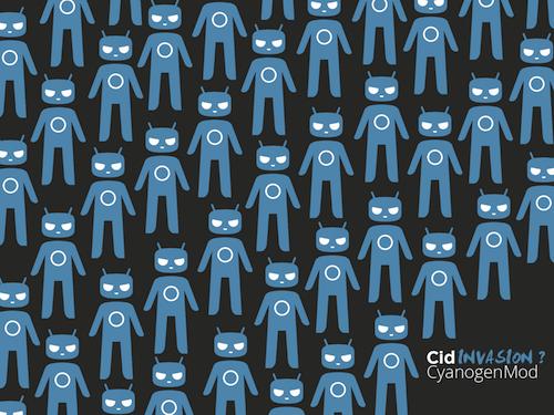 Cyanogen Mod 10 Wallpaper 6