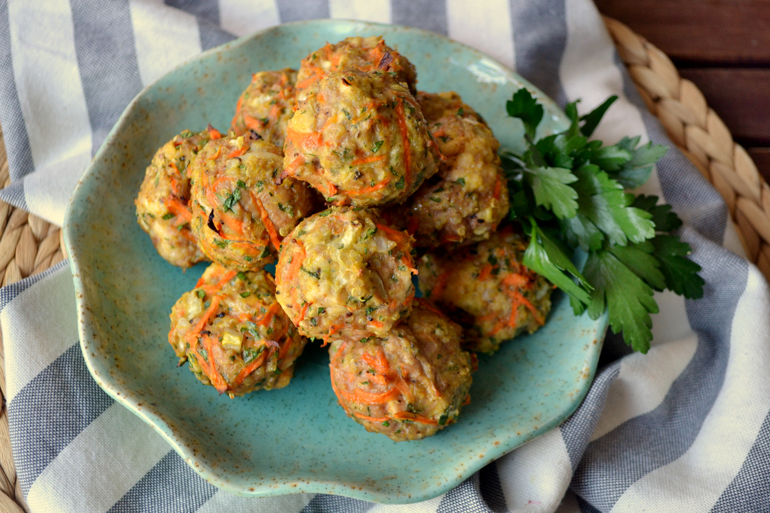 recipe: dr oz quinoa meatballs [21]