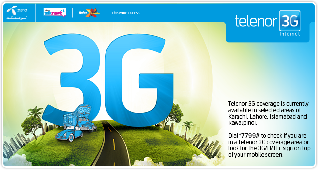 Latest Telenor 3G internet Packages 2014