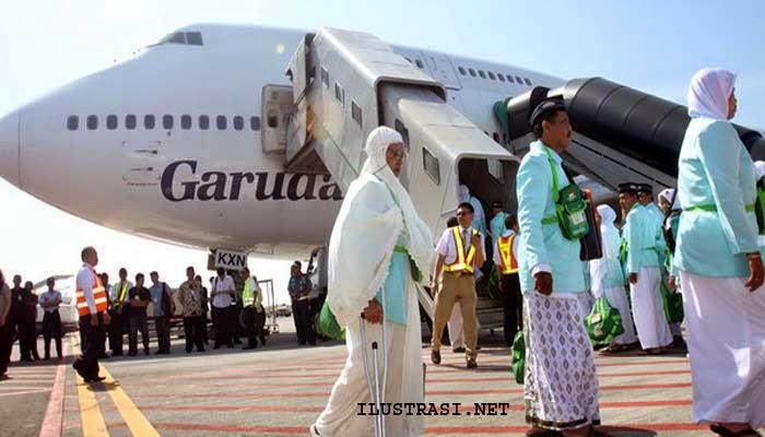 Calon Haji Kloter 9 Tiba di Jeddah