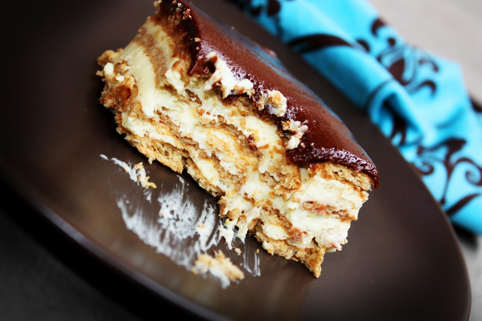 Eclair Cake - Homemade Toast