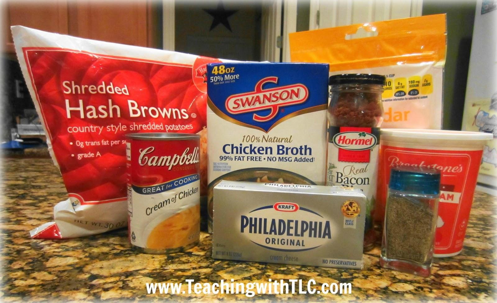Teaching With Tlc Easy Crockpot Potato Soup