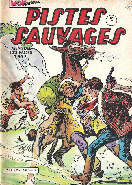 Pistes sauvages - Aventures et Voyages (Mon Journal) Scan: j.Rab
