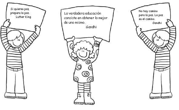 Dibujo de la violencia personas peleando para colorear - Imagui