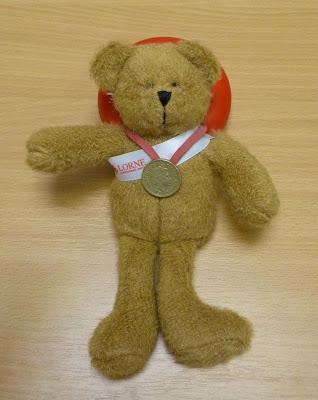 gold medal for Lorne
