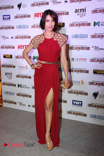 Malaika Arora Khan Pictures in Red Long Dress at Celetion of Indian Film Festival of Melbourne 2013 ~ Celebs Next