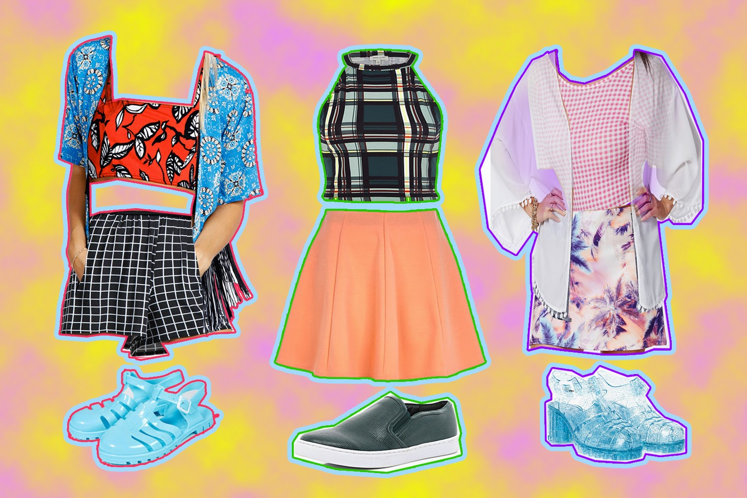 THREE OUTFITS FOR UNDER £50 EACH @BOOHOO @RIVERISLAND @MISSGUIDED
