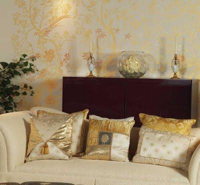 consigli per la casa e l' arredamento: decorare le pareti con gli ... - Stencil Camera Da Letto