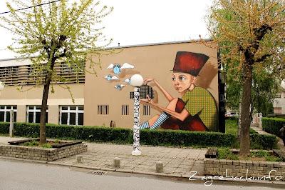 Graffiti - Ivanićgradska 41a