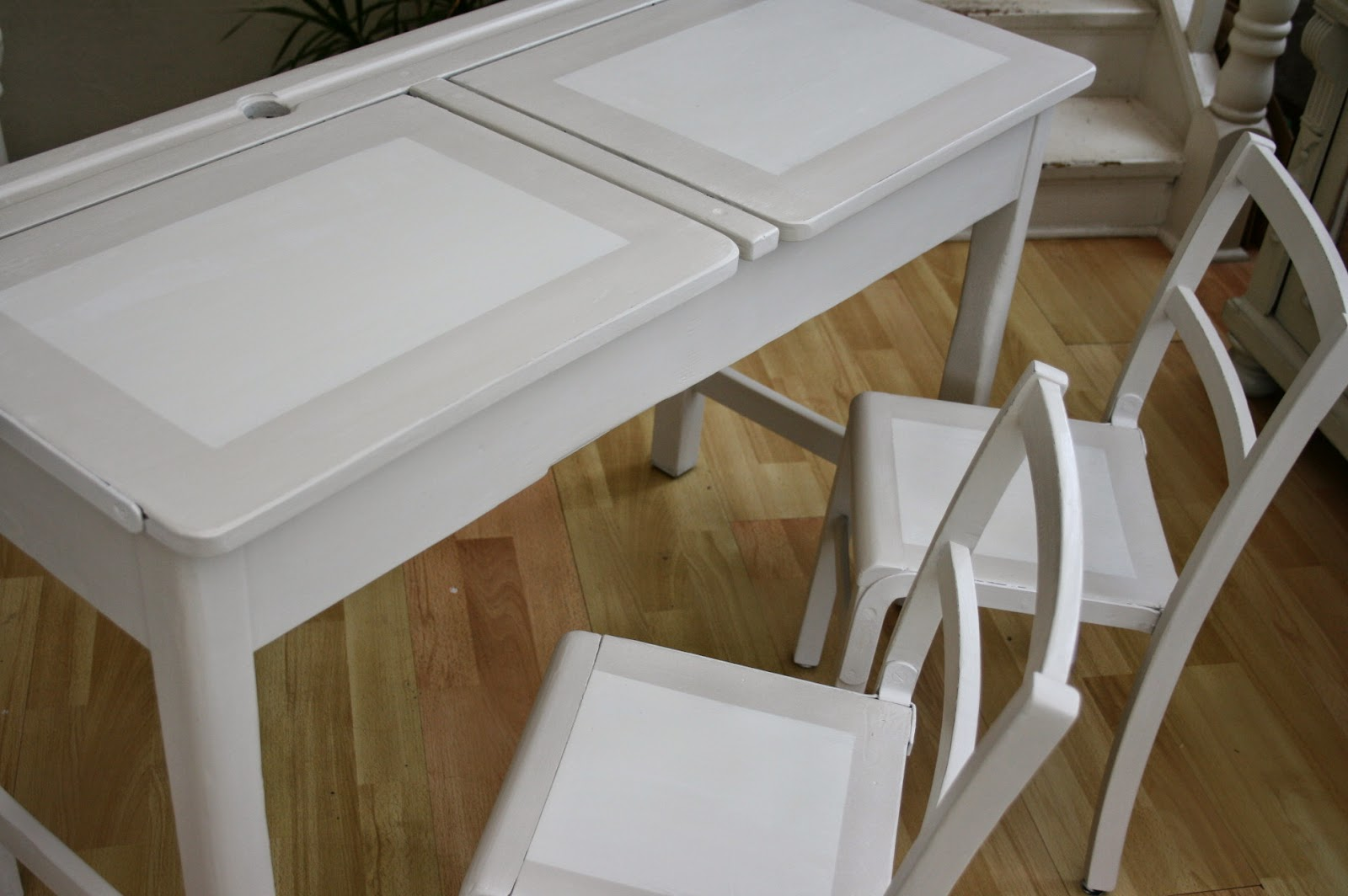 Farrow and Ball Shaded White painted furniture