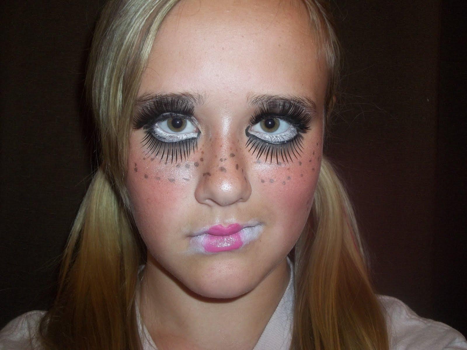 MakeupbyCarly: Creepy Doll Makeup Tutorial !