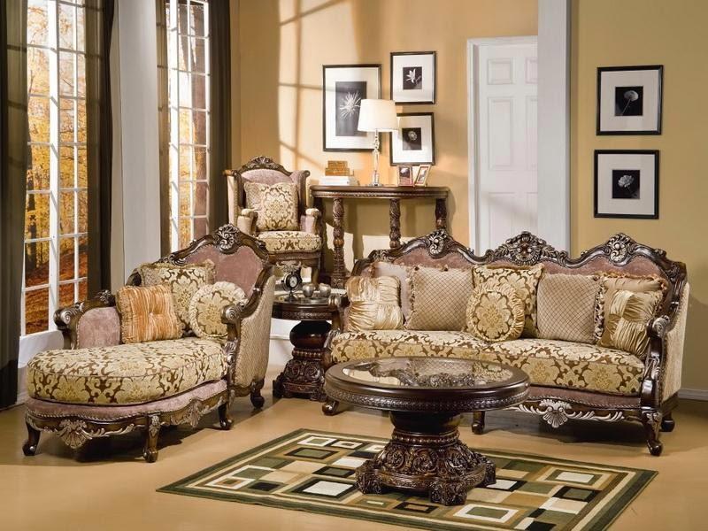 Tukang Taman Kalimantan sofa ruang tamu mewah