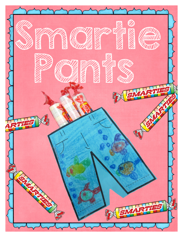 Geeky image within smartie pants printable