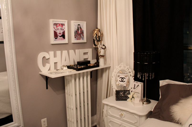 new chanel themed bedroom