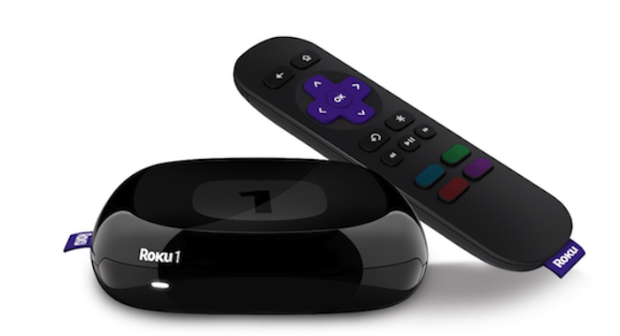 Roku 1 Streaming Player (Black) (Roku 2710R)