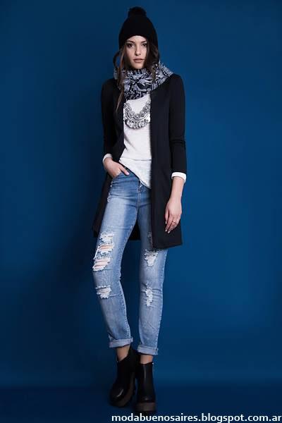 Tapados invierno 2015 moda mujer Estilo Ambar.
