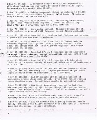 NORAD Command Directors Log - C
