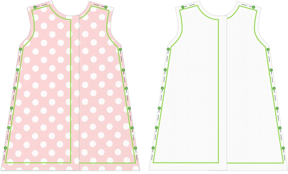 ... Träume: Kostenloses Schnittmuster für ein Kleid mit Peter-Pan-Kragen