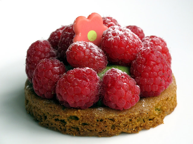 Pâtisserie Régis Paris - Tarte framboise