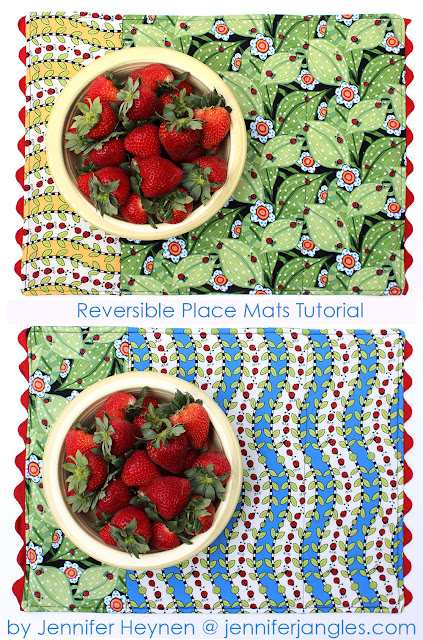 Reversible Place Mat Pattern