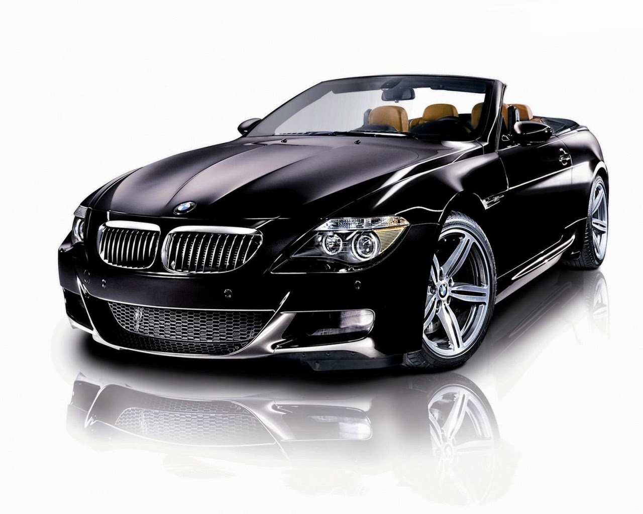 Stylish BMW Black Color Car Wallpaper