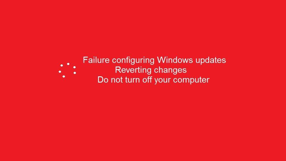 Windows 8 Update Error