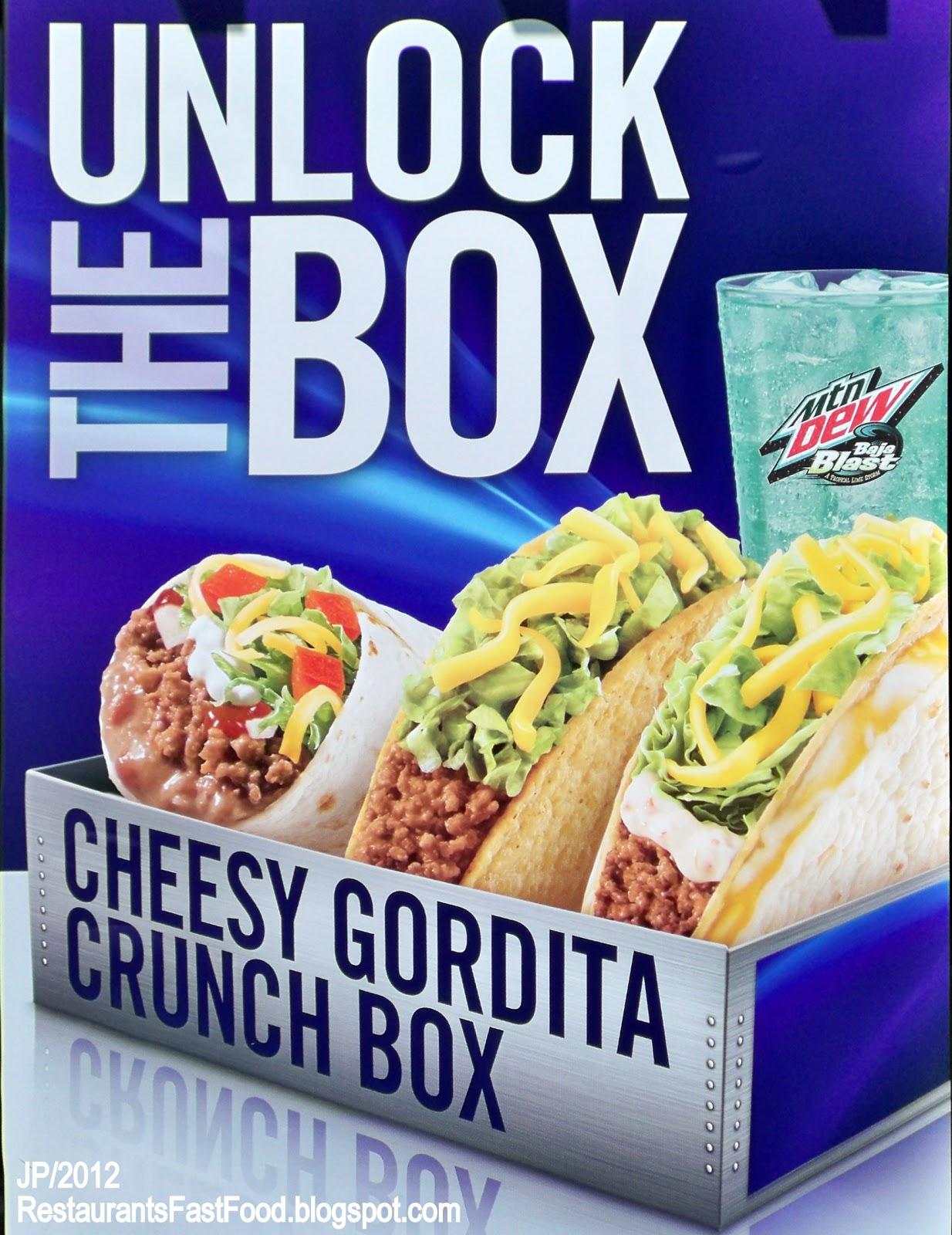 A mexican gordita crunch 3
