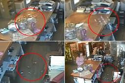 Aktivitas Hantu Terekam Kamera CCTV di Inggris