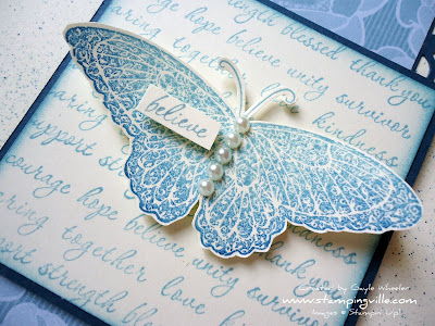 Butterfly Image from Strength & Hope Stamp Set by Stampin' Up!