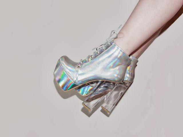 Sammi Jackson - Holographic Boots