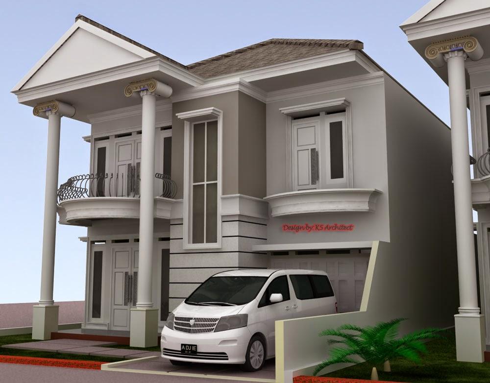 Gambar Rumah Klasik Desain Terbaru Arsitek Modern