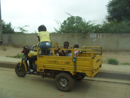Convertable ride