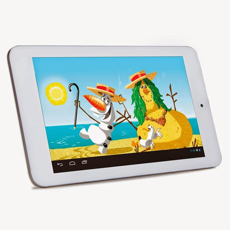 Tablet Disney Frozen Android 4.2 e 8GB de Memória
