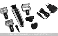 Groupon: Buy Philips QG3389/15 Multi Purpose Grooming Kit at Flat 42% off & Extra 20% off & Extra 30% Via Payumoney