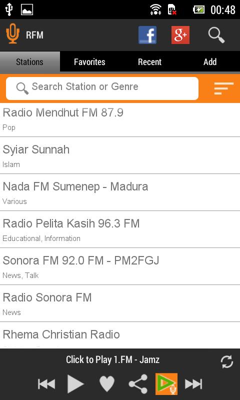 cara mendengar radio di internet