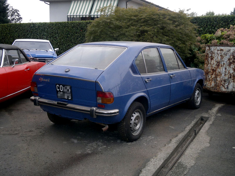 Auto Epoca Classiche Alfasud Prima Serie