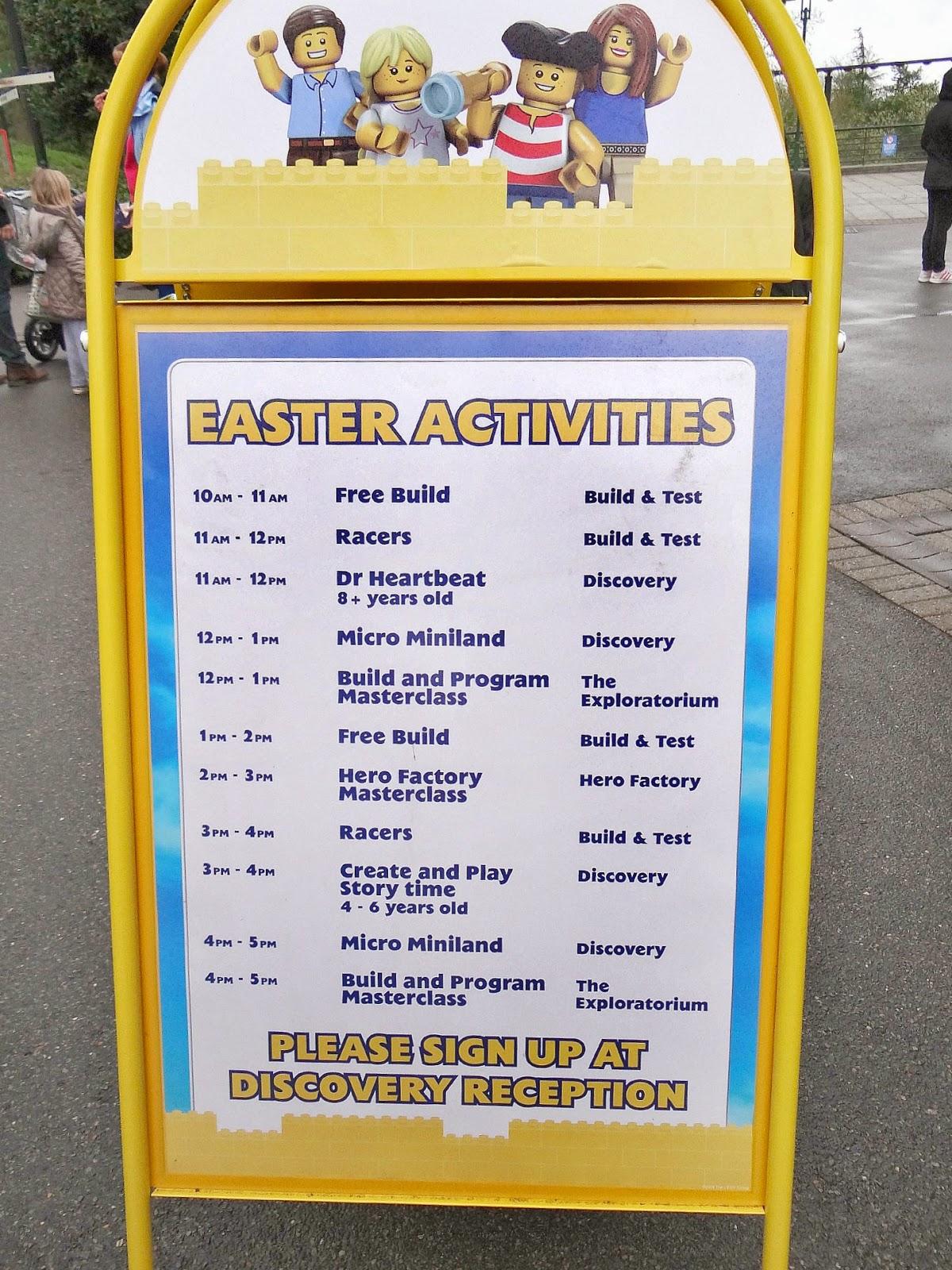 Legoland Windsor 2014, Legoland Windsor Easter, Legoland Windsor Imagination Centre Easter