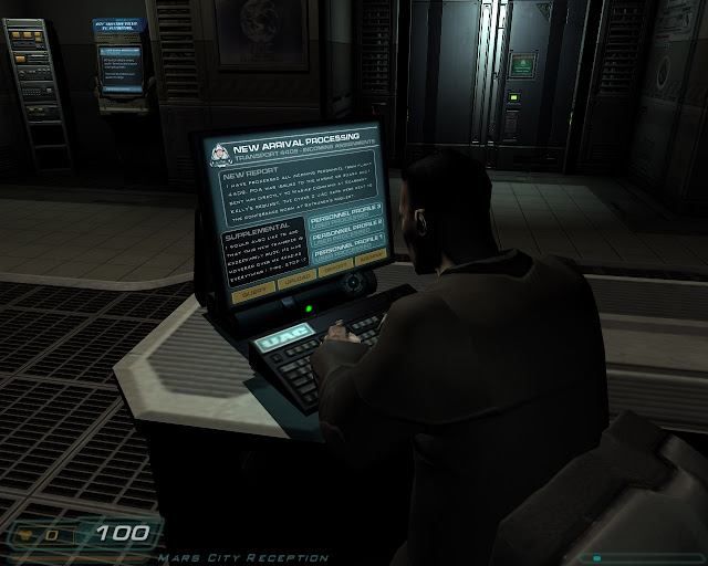 Doom 3 monitor typing this transfer is exceedingly rude