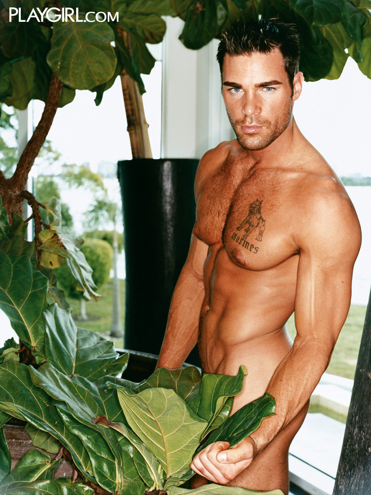 Charles Dera in Playgirl. Click to visit Playgirl.com