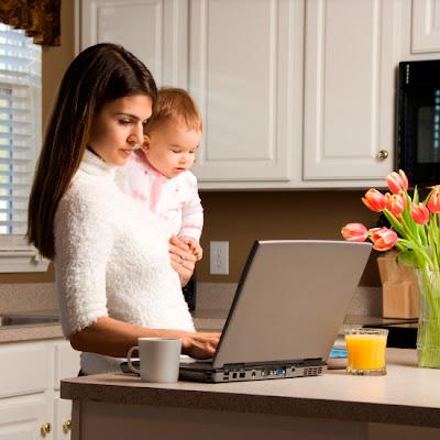 travail à domicile avec votre enfant