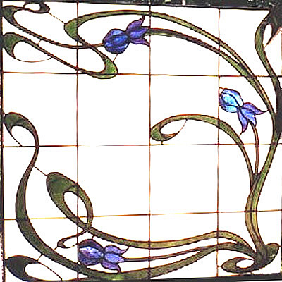 Movements in design art nouveau motifs for Art nouveau shapes