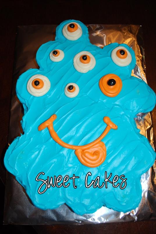 Sweet Cakes Monster Pull Apart Cake