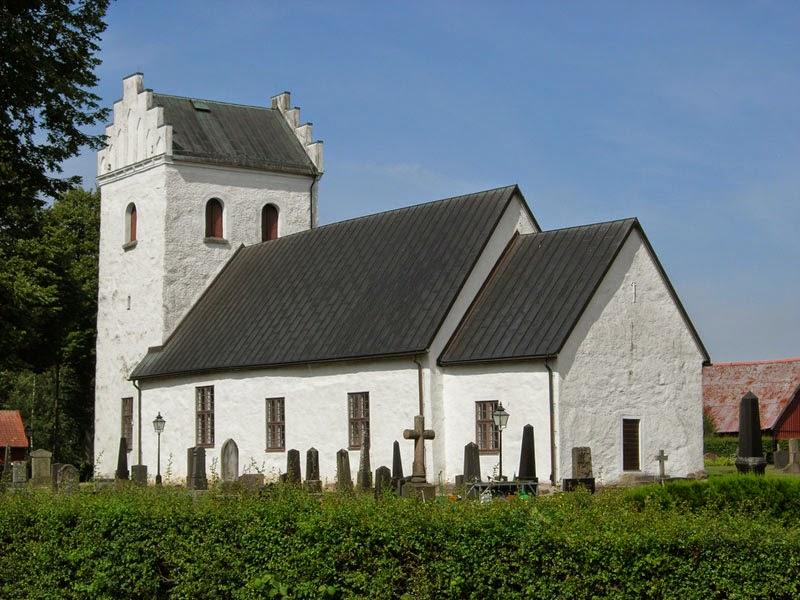 La chiesa di Djurröd