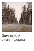 Зимник или зимняя дорога