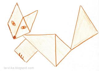 танграм схемы фигур