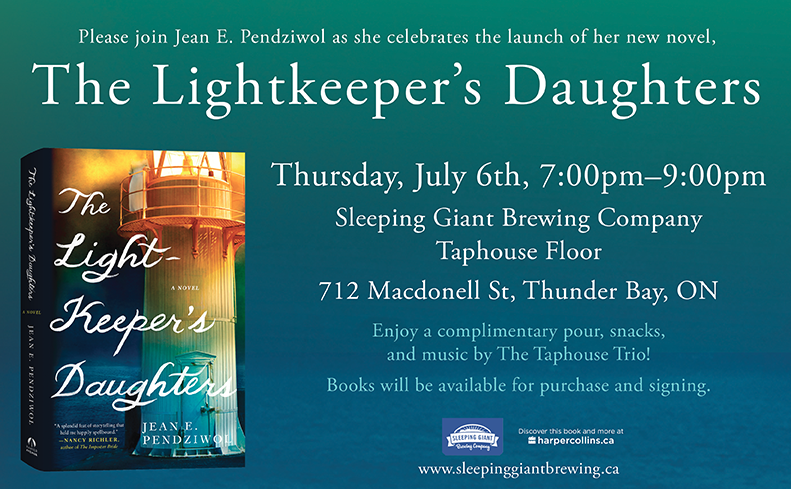 Launch of The Lighkeeper's Daughters